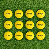 FORB Foam Golf Balls – 12 Pack   High Density