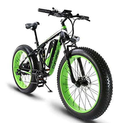 Electric Bike Motor >> Cyrusher Xf800 Fat Tire Electric Bicycles Mountain Bike Snow Bike Motor Bike 1000w 48v Panasonic Cell Lithium Battery Pedal Assist