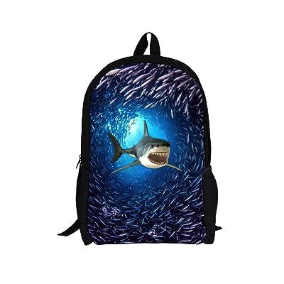 Coloranimal Underwater Animal Design Kids School Bookbag Gilrs Backpacks