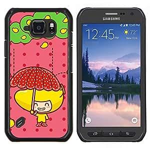 For Samsung Galaxy S6Active Active G890A Case , Naturaleza Mountan Nieve- Diseño Patrón Teléfono Caso Cubierta Case Bumper Duro Protección Case Cover Funda