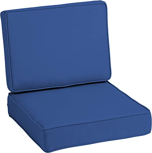 Arden Selections ProFoam EverTru Acrylic 24 x 24 x 6 Inch Outdoor Deep Seat Cushion Set