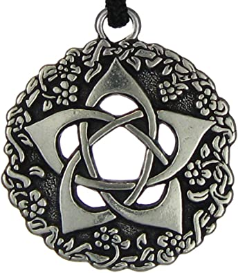 Pentacle Of The Goddess Wiccan Jewelry Pagan Pentagram Necklace By Pepi Amazon Co Uk Jewellery