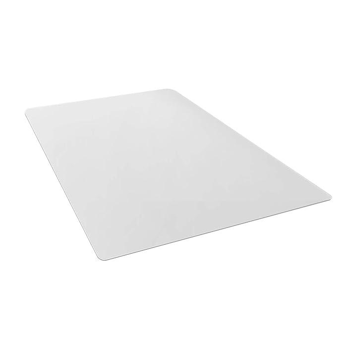 "AmazonBasics Polycarbonate Chair Mat for Hard Floors - 35"" x 47"""
