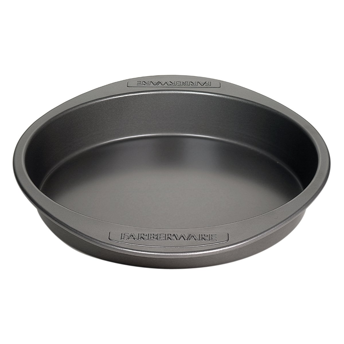 Farberware Nonstick Bakeware 9-Inch Round Cake Pan, Gray