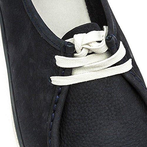Fitflop Loaff Lace-up Moc - Zapatos de vestir Mujer Azul (Super Navy 097)