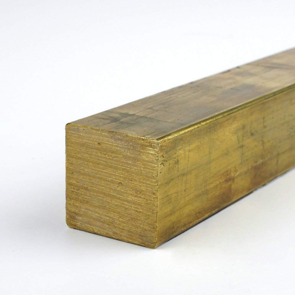 144.0 0.1875 x 2.5 Brass Rectangle Bar 360-H02 Extruded