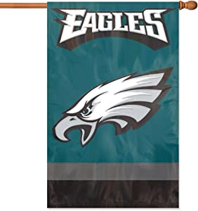 The Party Animal NFL Applique Banner Flag