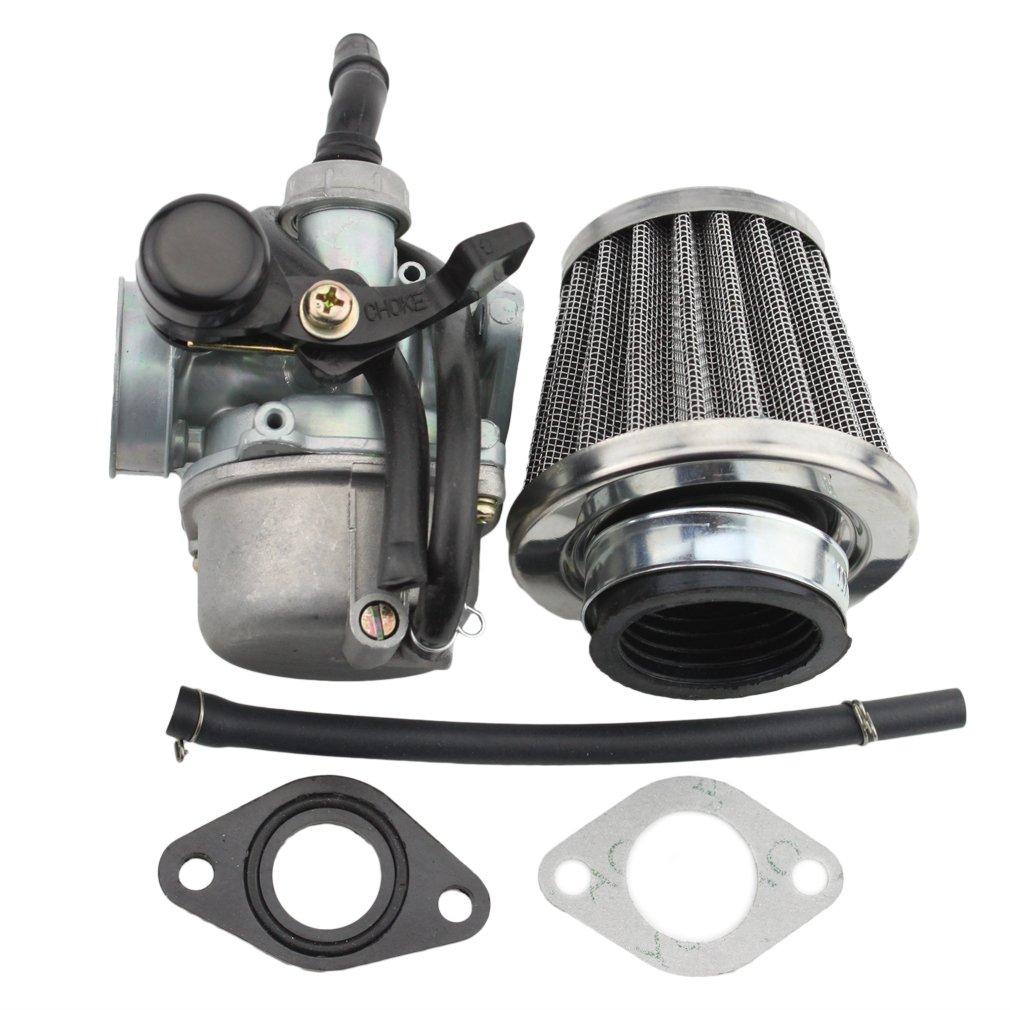 Goofit Pz19 Carburetor With Air Filter For Kazuma Taotao Baja Sunl Go Kart Wiring Harness Polaris Roketa Honda Xr