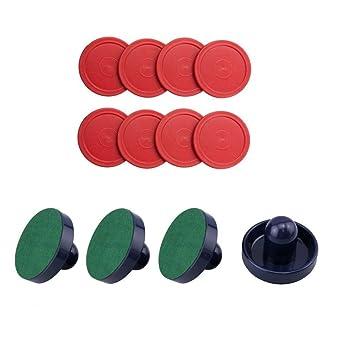 Easygame - Accesorios de Hockey de Aire para niños, 4 Unidades (Azul ...