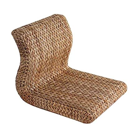 Amazon.com: Wapmvd Rattan Grass backrest seat and Room Chair ...
