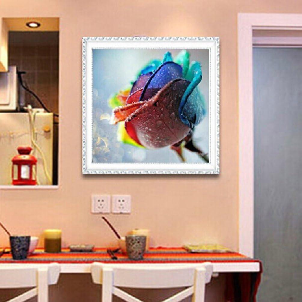 red rose 30x30cm Ricamo Diamante Kit 5d pittura in diamante diy punto croce in resina decorazione di casa soggiorno camera