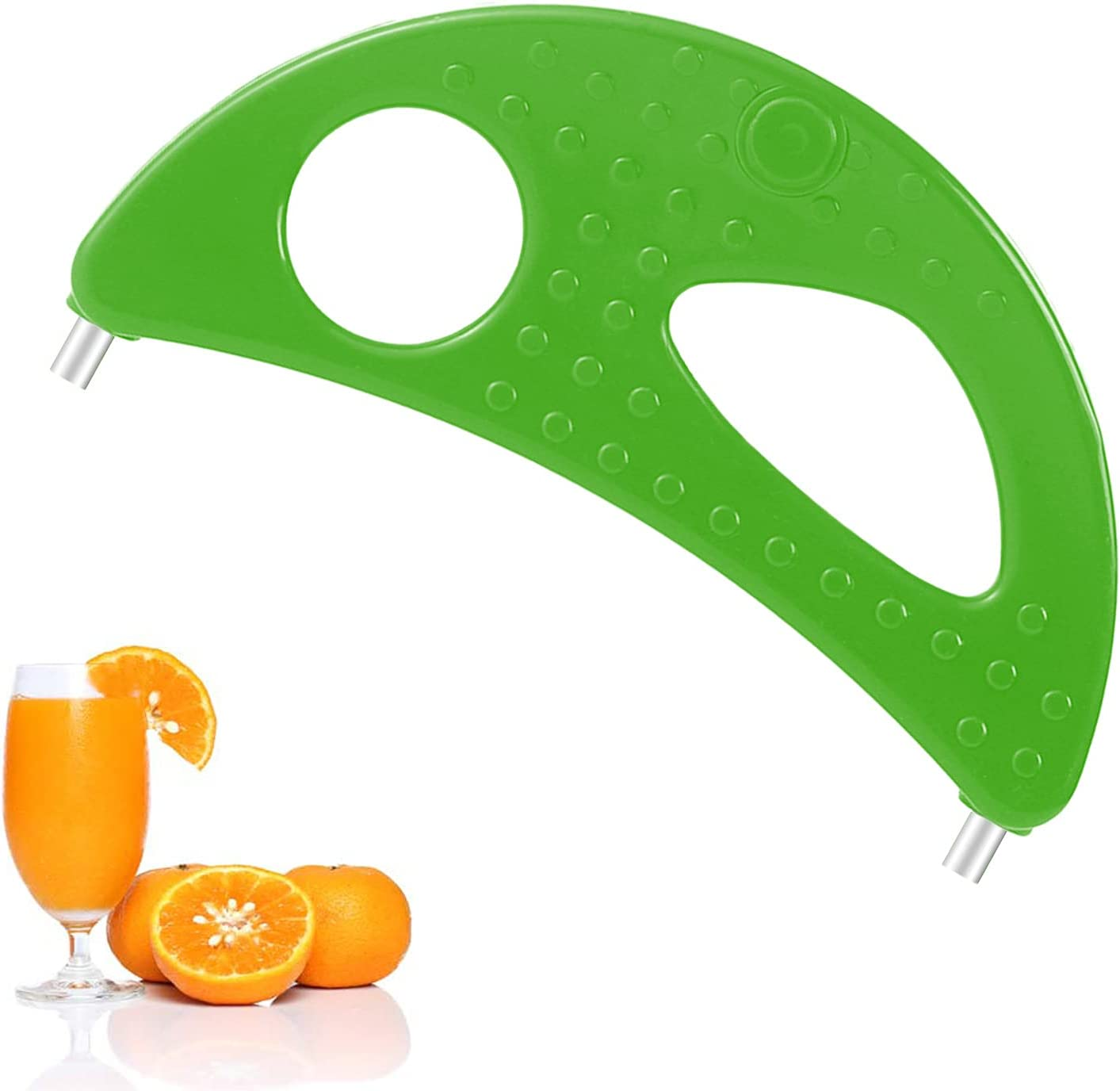 Crescent Tool Compatible with Jack Lalanne Power Juicer CL003AP E1188 E1189 MT1000 Juicer Replacement Parts (Green)