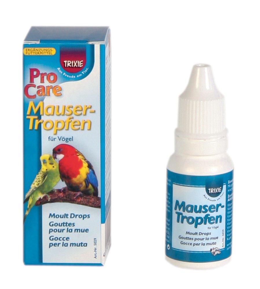 Gouttes pour la mue pour oiseaux, 15 ml Trixie 4011905050294