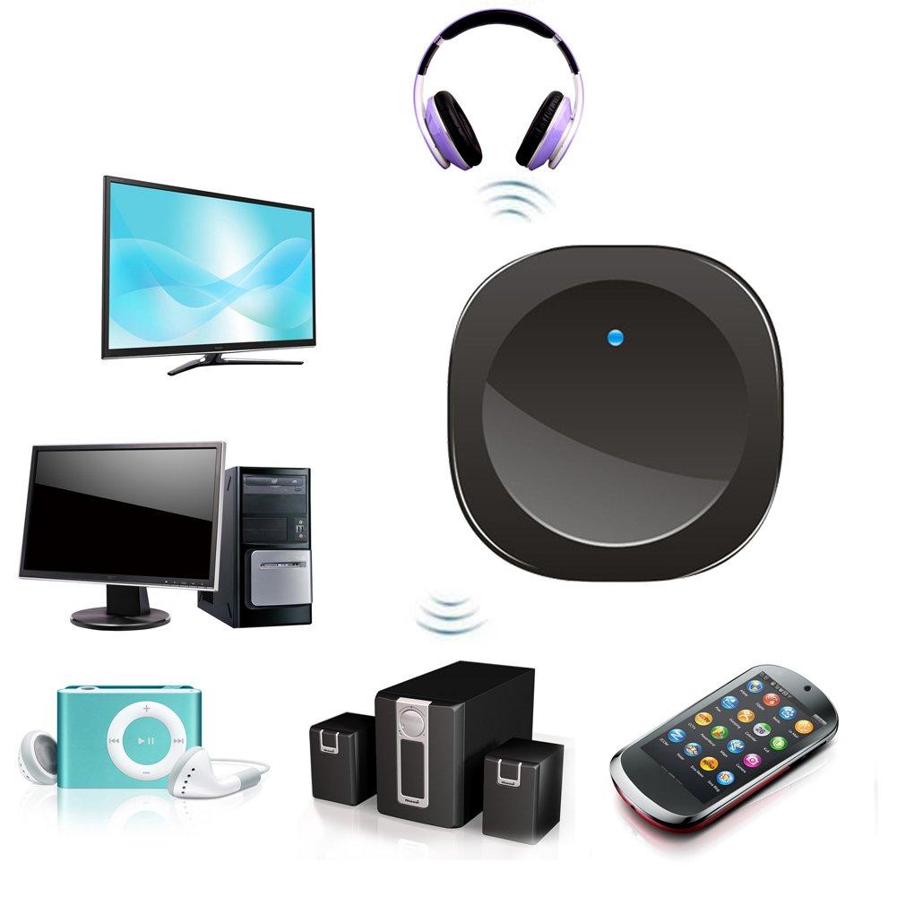 Demiawaking Adaptateur R/écepteur De Musique Sans Fil Bluetooth Audio St/ér/éo A2Dp Rca 3,5 Mm