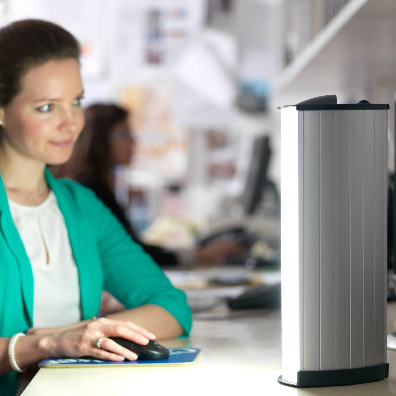 Lumie Brightspark   SAD Lightbox For SAD Light Therapy At Your Desk:  Amazon.co.uk: Health U0026 Personal Care