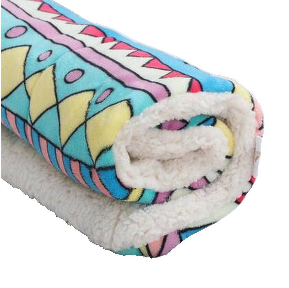 [Geometry] Soft Pet Beds Pet Mat Pet Crate Pads Cozy Beds for Dog Cat
