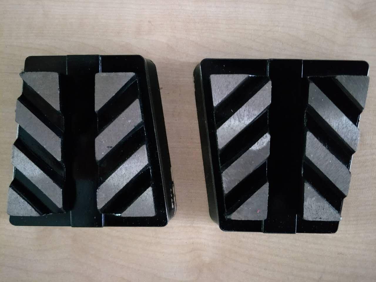 12 pieces 180# Frankfurt abrasive grinding shoe blocks for concrete terrazzo