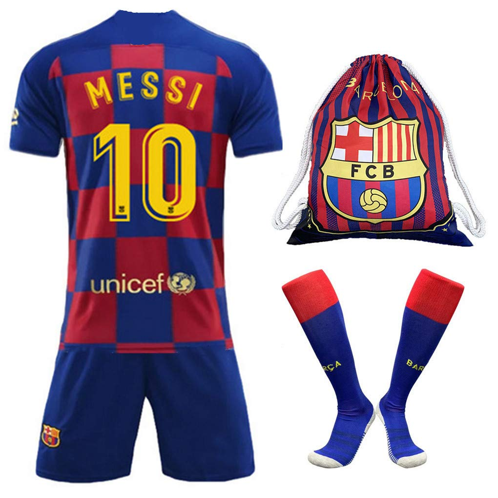 premium selection e45f2 e29c8 Amazon.com : DHMSport 10 Messi Jersey - Barcelona Home Messi ...