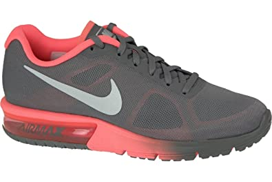 Nike Wmns Air MAX Sequent, Zapatillas de Trail Running para Mujer, Gris (Cool