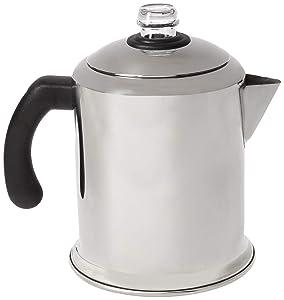 Farberware 50124 Classic Stainless Steel Yosemite 8-Cup Coffee Percolator