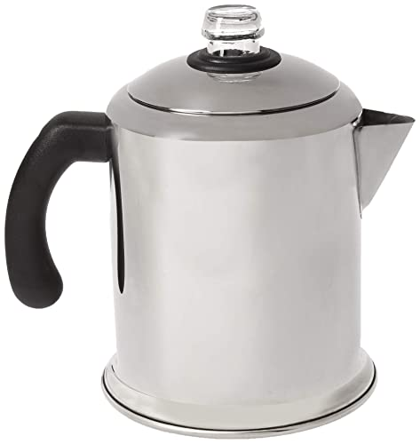 Farberware 50124 Classic Stainless Steel Yosemite Coffee Percolator