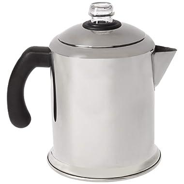Farberware Classic Stainless Steel Yosemite 8-Cup Coffee Percolator