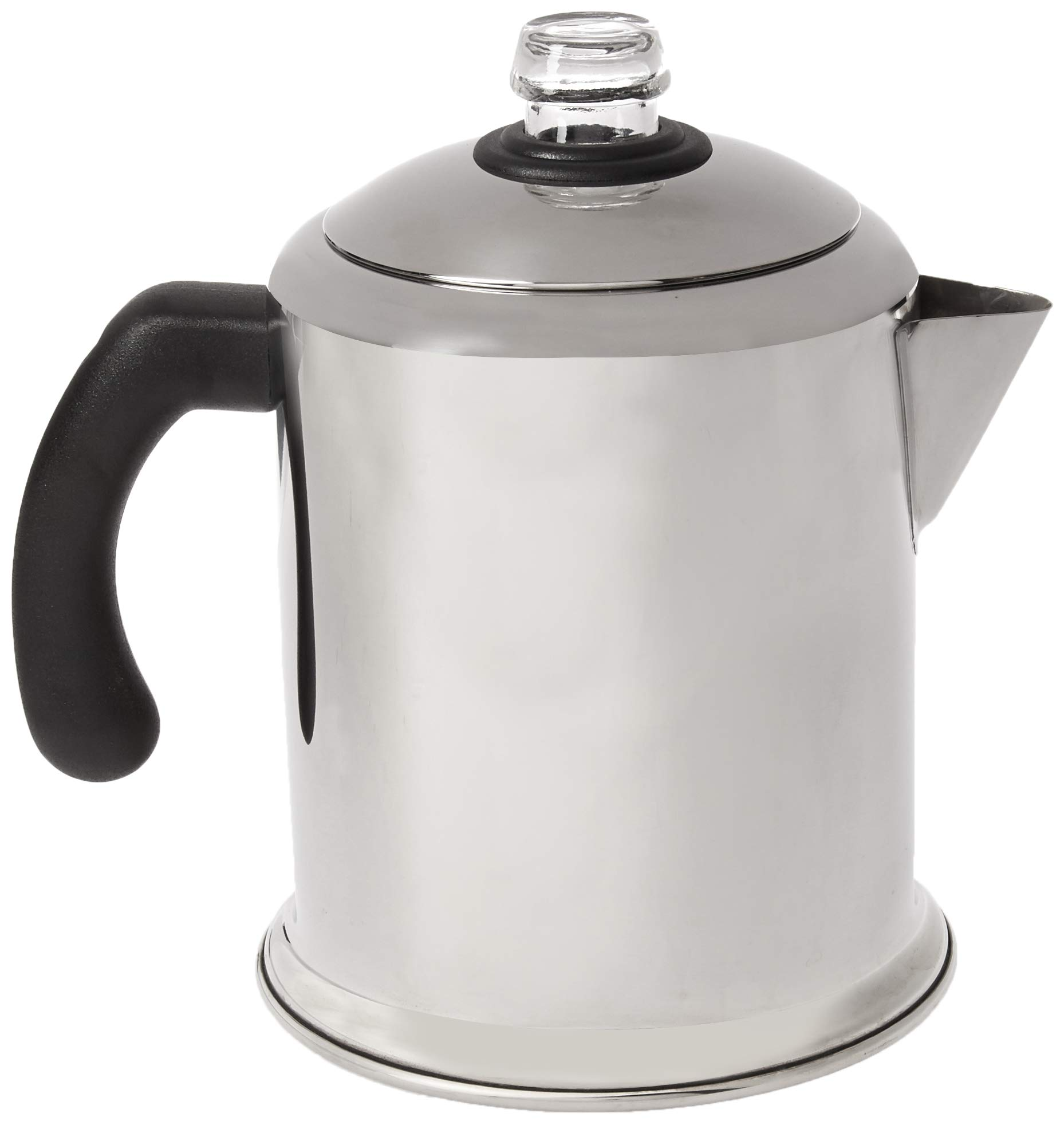 Farberware Classic Stainless Steel Yosemite 8-Cup Coffee Percolator product image