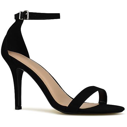a2b4febf43 Amazon.com | Premier Standard - Women's Ankle Strap Classy D'Orsay Dress  Pump, TPS Heels-30Okder Black Size 8.5 | Sandals