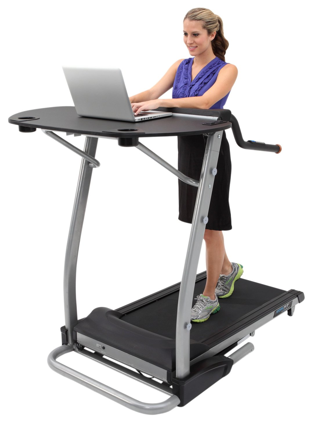 Exerpeutic 2000 WorkFit High Capacity Desk Station Treadmill by Exerpeutic