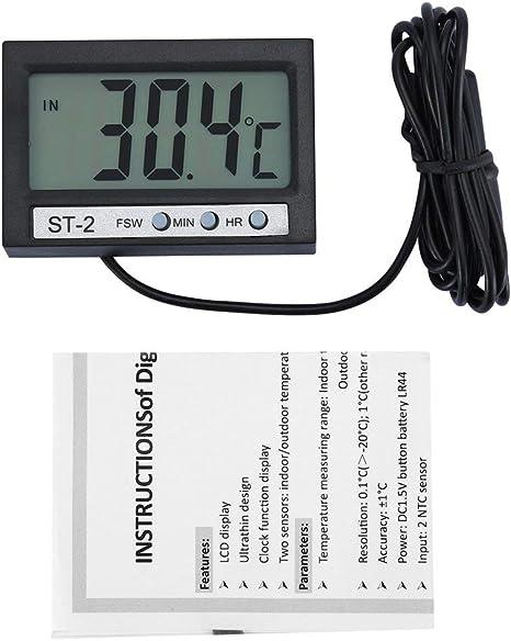 Freezer Refrigerator Freezer Wireless LCD Digital Thermometer High Quaity x1