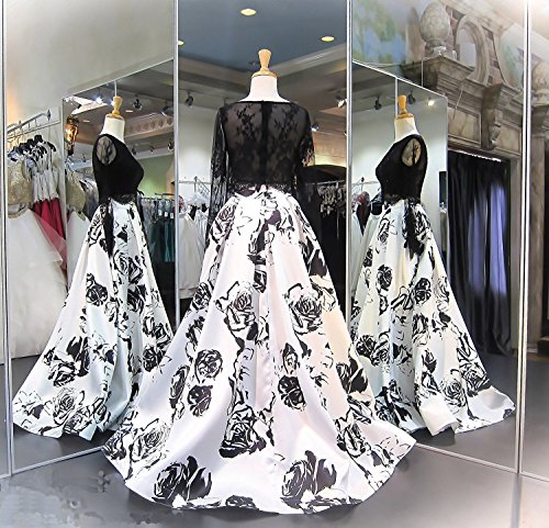 Beading 2018 Floral Sleeves s Formal Prom Long Women Dresses Gowns Blue Aurora Fq6w8ZXx