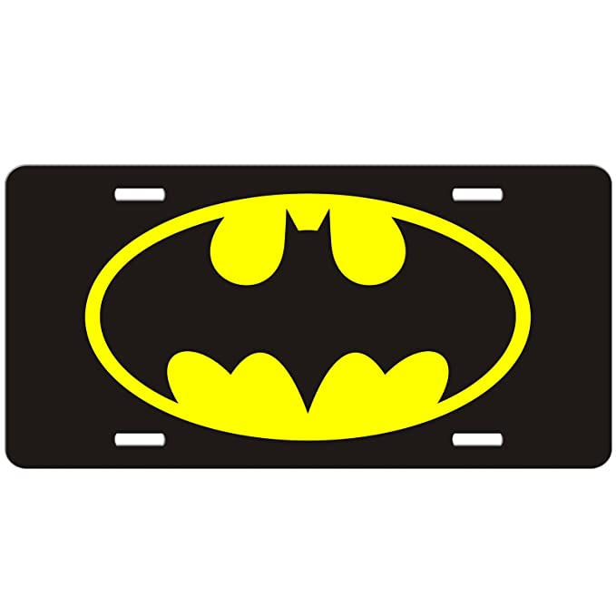 Amazon Batman Car Tag Auto Tag Batman License Plate Automotive