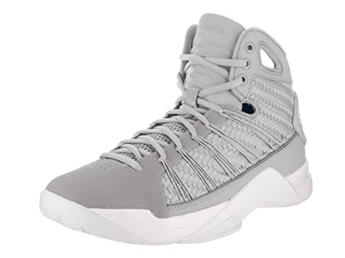 9f3bd4f2efc4 Nike Men s Hyperdunk Lux Grey Basketball Shoes 8