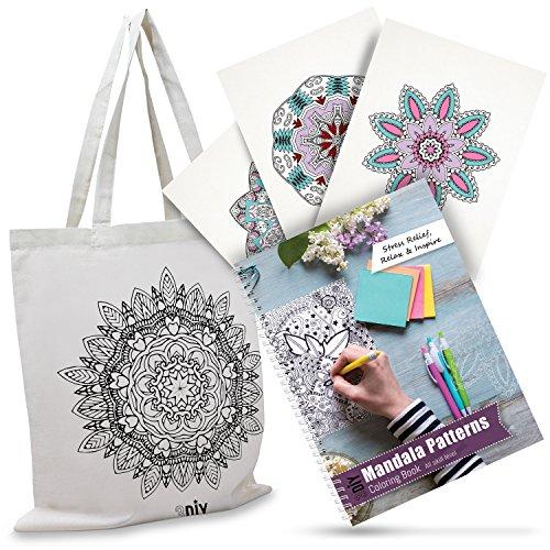 3DIY Olivia Mandala Coloring Book For