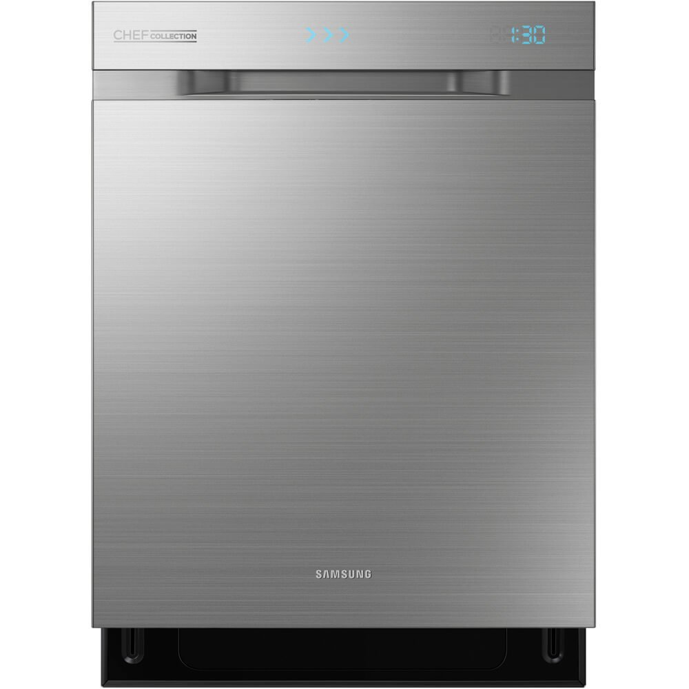 "Samsung DW80H9970US Chef Collection 24"" Stainless Steel Fully Integrated Dishwasher - Energy Star"