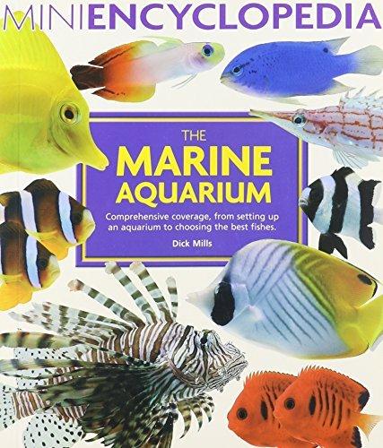 Barrons Saltwater - By Dick Mills The Saltwater Aquarium (Mini Encyclopedia Series) [Paperback]