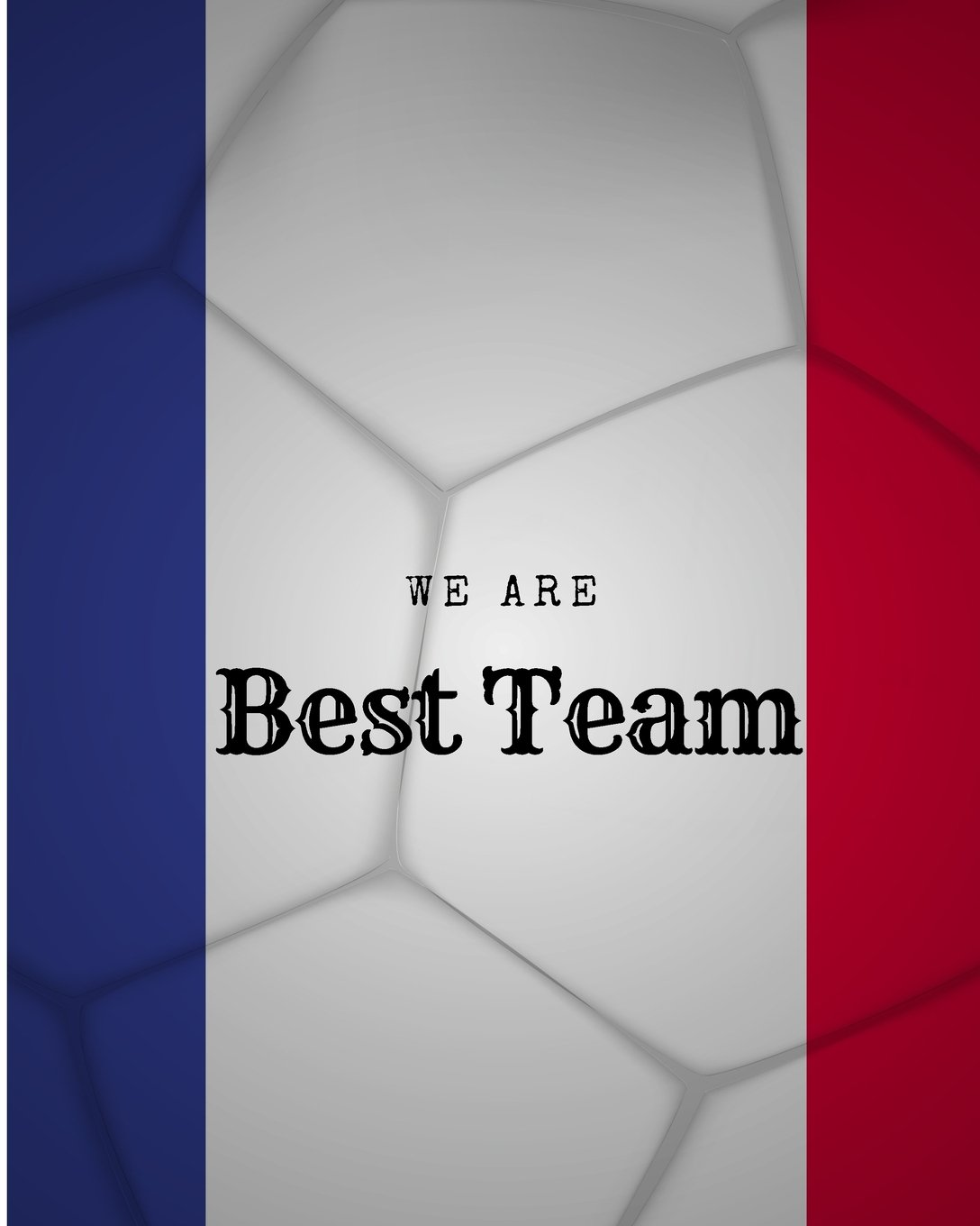 Download We are Best Team: France Football / Soccer Team 106 Pages Unlined Notebook ebook