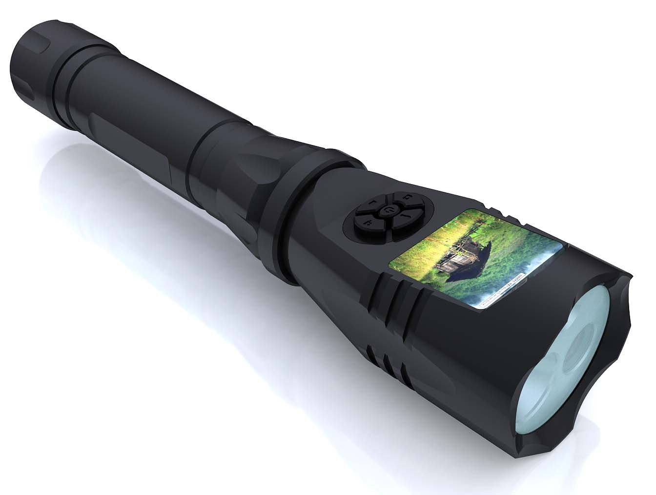 Digital Monitoring Device with Camera DVR IP65 Waterproof LED Flashlight for Inspection Work