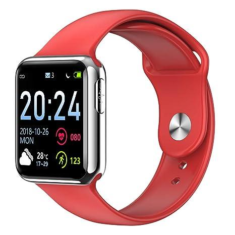 Amazon.com: Reloj inteligente, ECG frecuencia cardíaca ...
