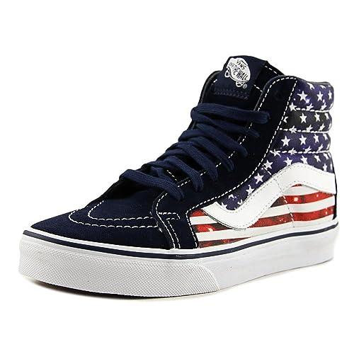 e246f60982 Vans Sk8-Hi Reissue Women US 6 Multi Color Sneakers  Amazon.co.uk  Shoes    Bags