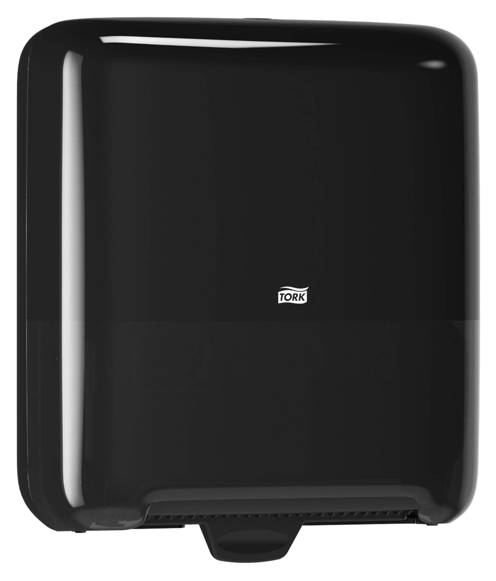 Tork 5510282 Elevation Matic Paper Hand Towel Roll Dispenser, 14.65'' Height x 13.2'' Width x 8.1'' Depth, Black (Case of 1 Dispenser) by Tork (Image #9)
