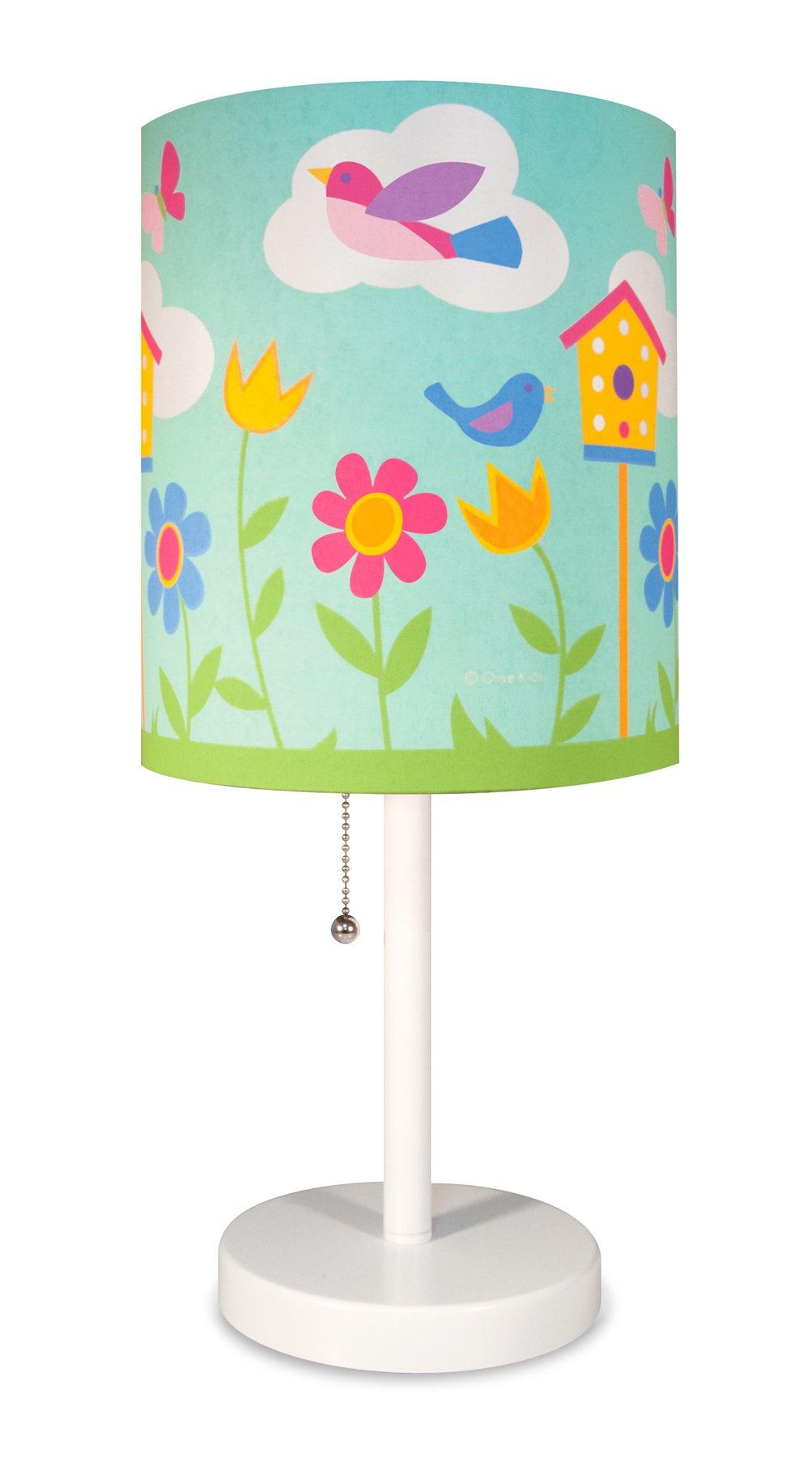 Wildkin Cylinder Lamp, Birdie by Wildkin