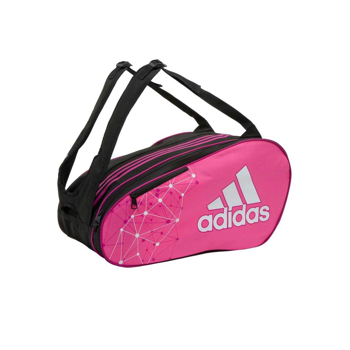 adidas padel Racket Bag Control - Bolsa, color rosa/ blanco: Amazon.es: Deportes y aire libre