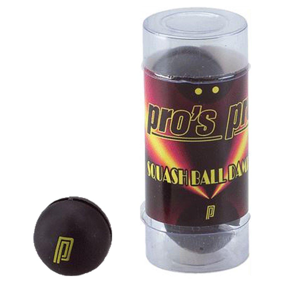 Pro's Pro Ball Squash Vibration Dampener Racket Damper Damp - Pack of 3 - Black Pro' s Pro