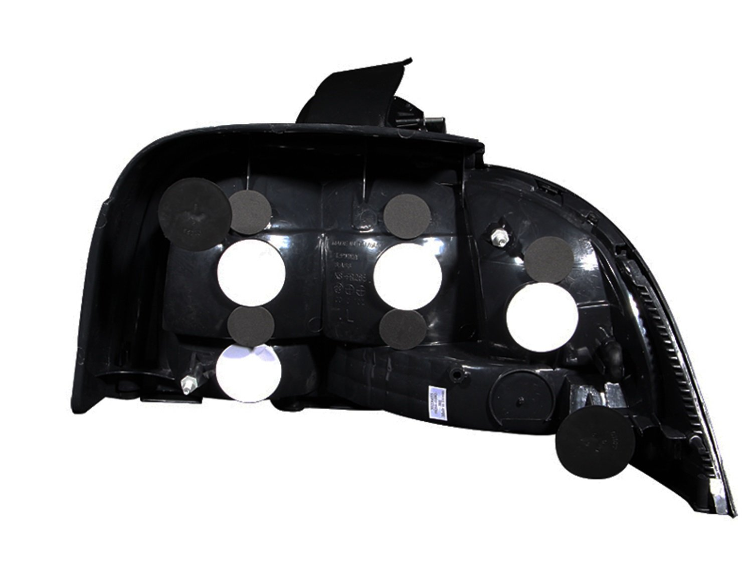 Anzo USA 221020 Ford Mustang Black Tail Light Assembly Sold in Pairs