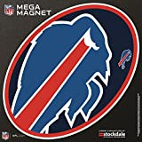 Buffalo Bills MEGA Style Logo 12'' Magnet Heavy Duty Auto Home NFL Football