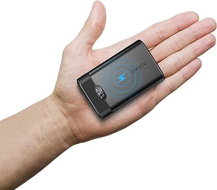 Amazon.com: AIDEAZ - Cargador portátil inalámbrico de 20000 ...