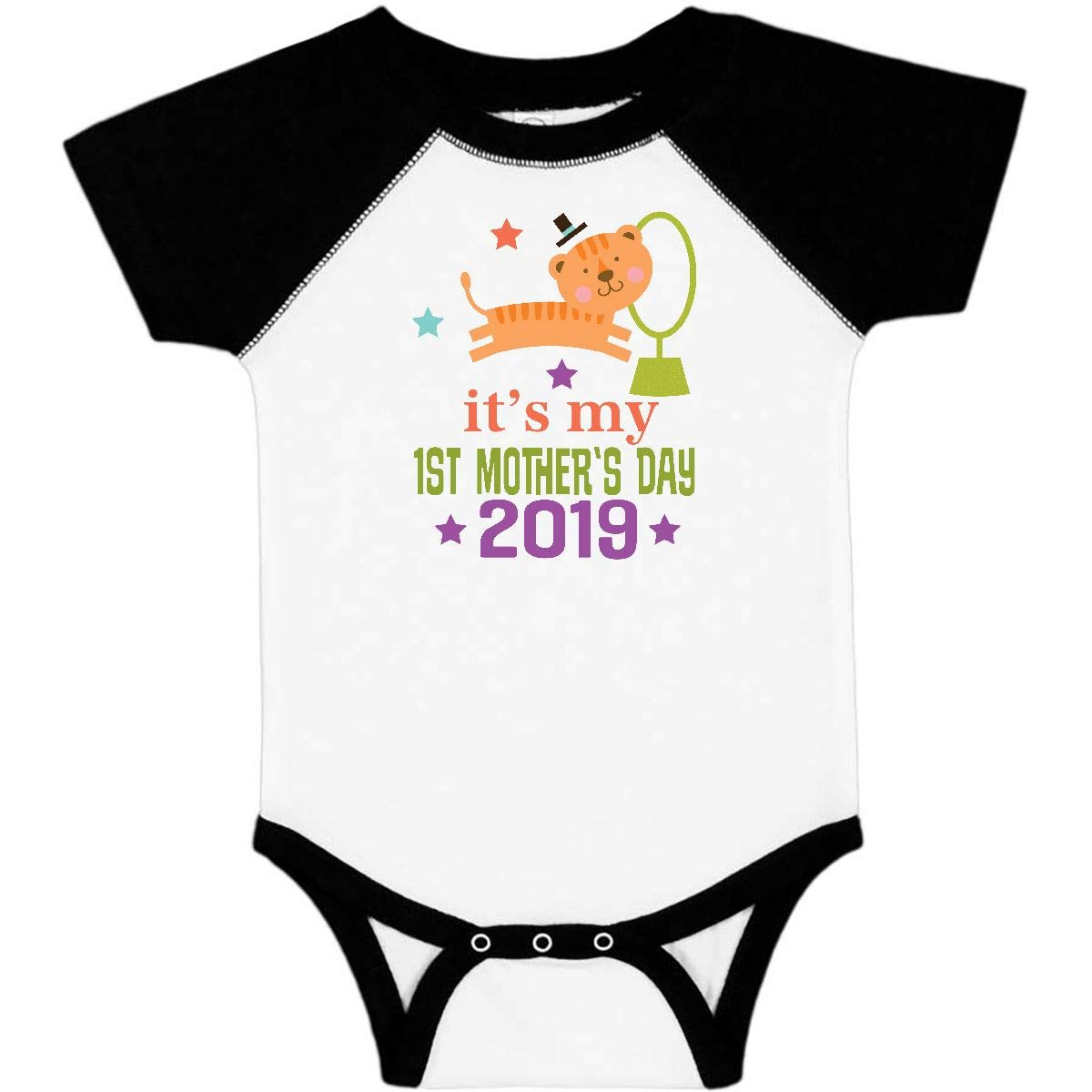74a7faae2 Amazon.com: inktastic - 1st Mothers Day Outfit 2019 Infant Creeper 2f621:  Clothing