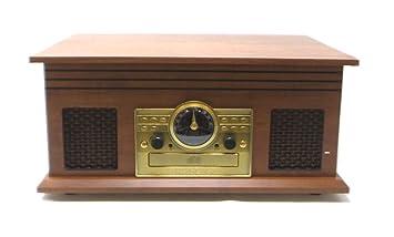 Amazon.com: Victrola VTA-220B - Tocadiscos (6 en 1, 3 ...