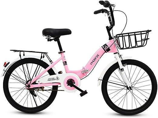 Bicicletas niños Plegable para Estudiantes de 16 Pulgadas Niña 6 ...